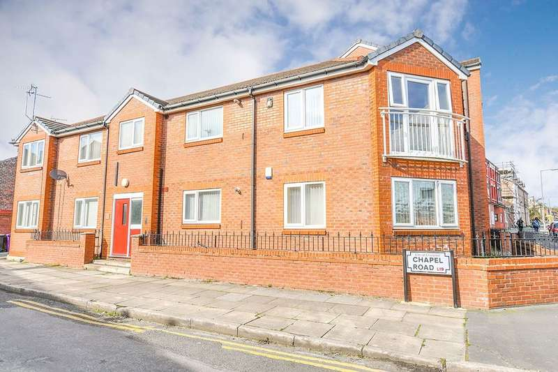 1 Bedroom Flat for sale in Mall Court Chapel Road, Garston, Liverpool, L19