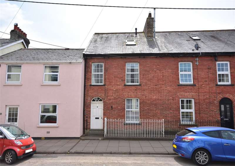 4 Bedrooms Terraced House for sale in West Street, South Molton, Devon, EX36