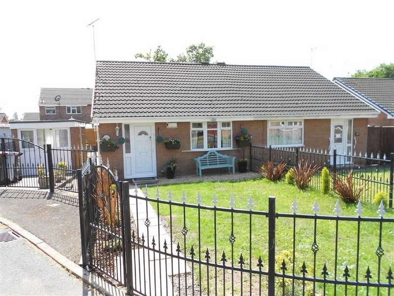2 Bedrooms Semi Detached Bungalow for sale in Somerley Close, Coppenhall, Crewe, Cheshire