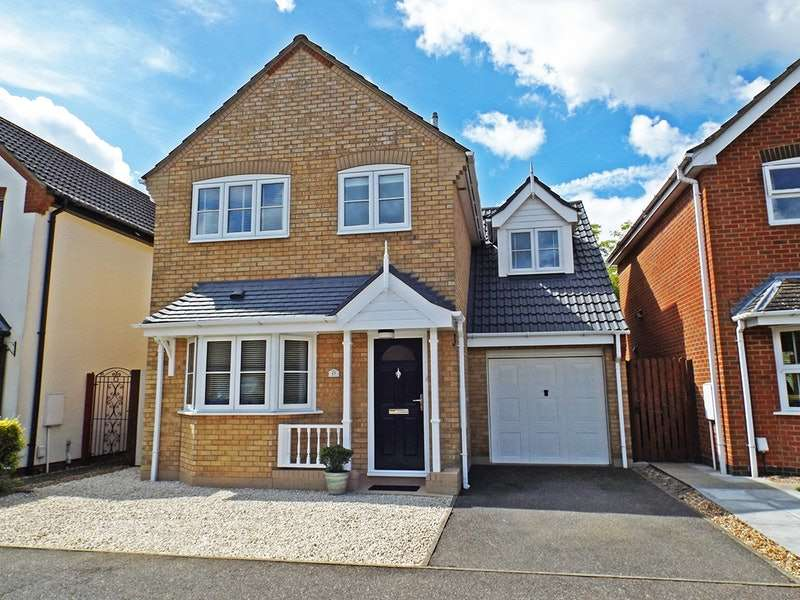 3 Bedrooms Detached House for sale in Riddiford crescent, Brampton, Cambridgeshire, PE28