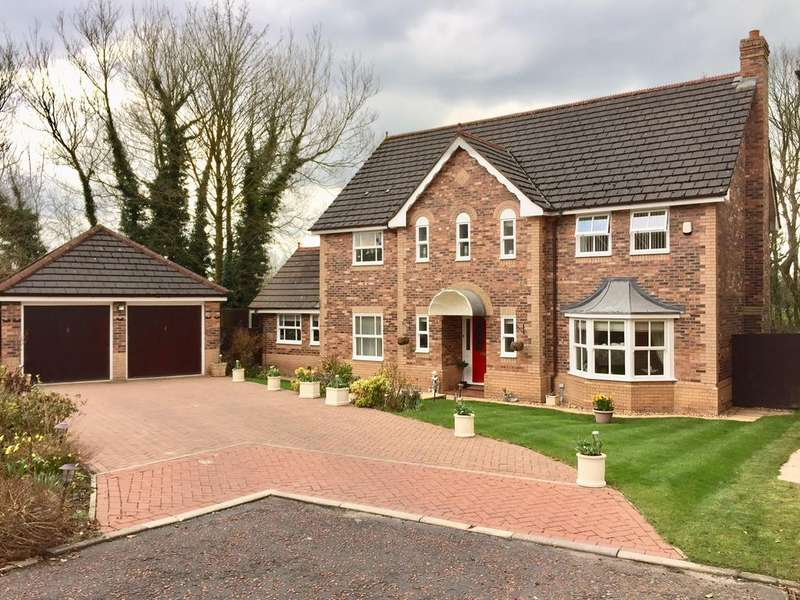 4 Bedrooms Detached House for sale in Uplands Chase, Fulwood, Preston PR2 7AW