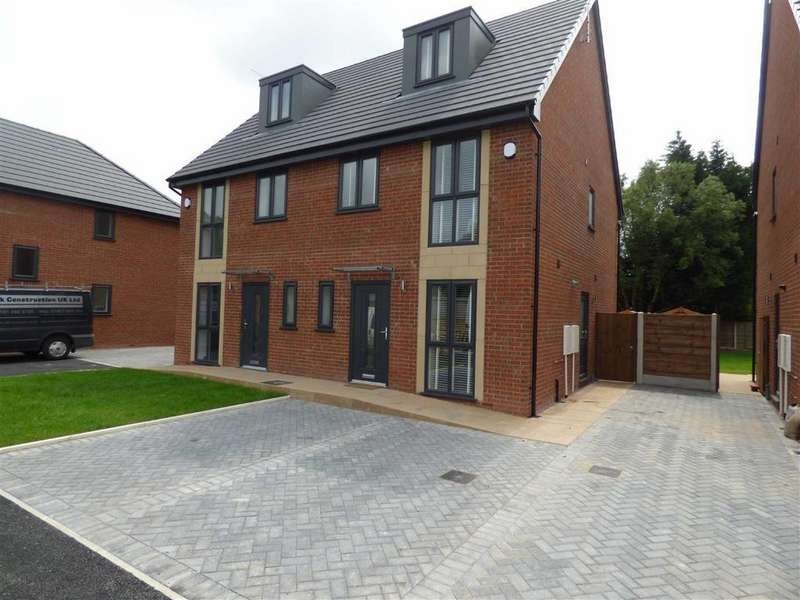 4 Bedrooms Semi Detached House for sale in Plot 3, Turves Road, Cheadle Hulme, Cheshire