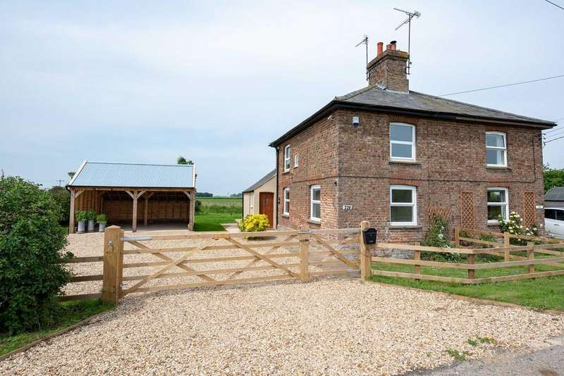 3 Bedrooms Semi Detached House for sale in South Drove, Lutton Marsh, PE12