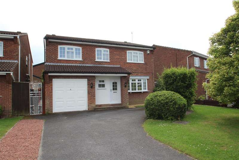 5 Bedrooms Property for sale in 8 Meadow Way, Groby, Leicestershire