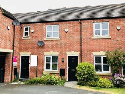 2 Bedrooms Terraced House for sale in Adamson Close, Warrington, Cheshire