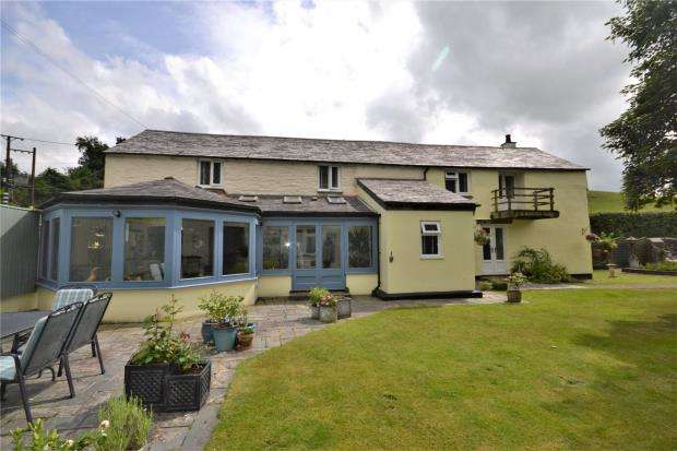 4 Bedrooms Detached House for sale in Old Mill, Stoke Climsland, Callington