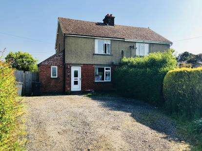 3 Bedrooms Semi Detached House for sale in Council House, Wainfleet Road, Thorpe St. Peter, Skegness