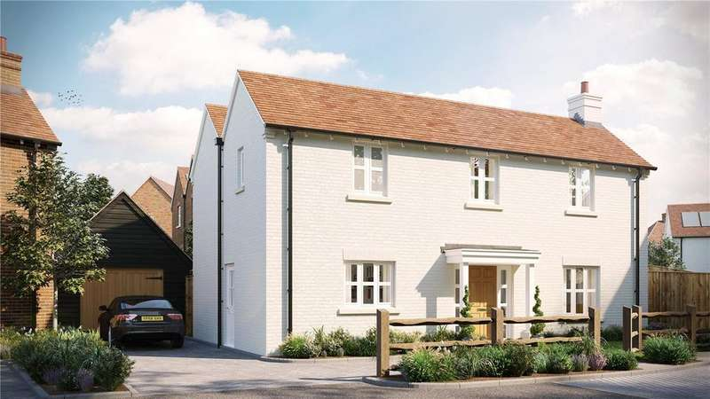 4 Bedrooms Detached House for sale in The Maltings Millers Brook, Farnham Road, Sheet, Petersfield