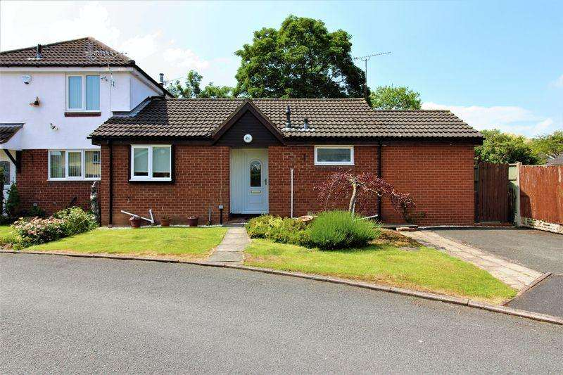 2 Bedrooms Semi Detached Bungalow for sale in Church Croft, Dodleston