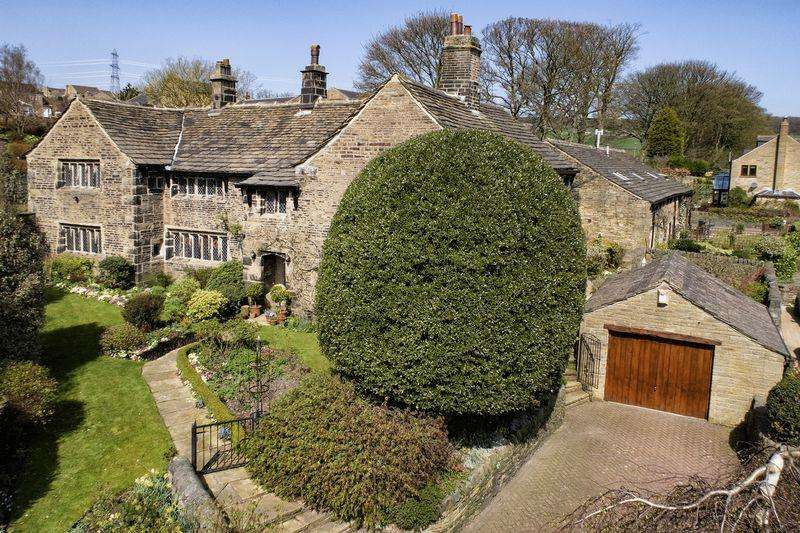 6 Bedrooms Unique Property for sale in Nolson House, Stainland Road, Barkisland, HX4 0AQ