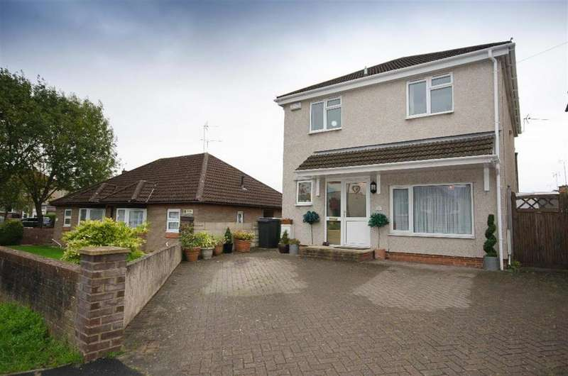 3 Bedrooms Detached House for sale in Badminton Road, Downend, Bristol, BS16 6ND