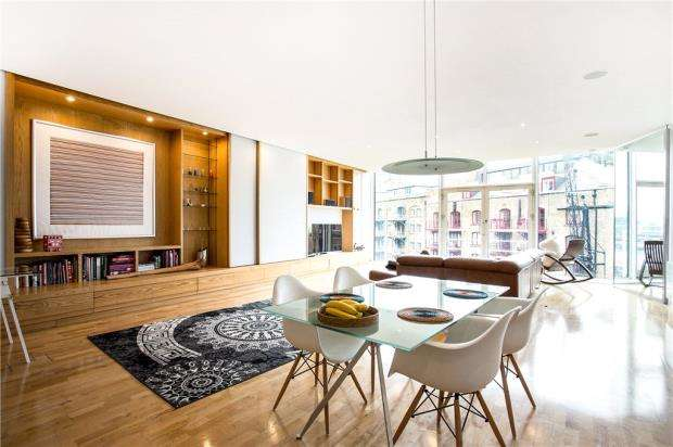 2 Bedrooms Flat for sale in Saffron Wharf, 20 Shad Thames, London