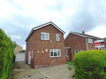 3 Bedrooms Detached House for sale in Hoplands Road, Coningsby, Lincoln, Lincolnshire