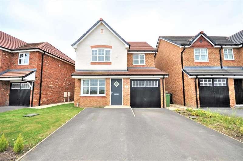 4 Bedrooms Detached House for sale in Sanderling Way, Wesham, Preston, Lancashire, PR4 3JL