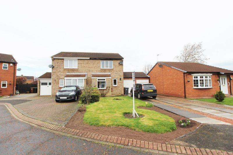 2 Bedrooms Semi Detached House for sale in Herrington Court, Newton Aycliffe