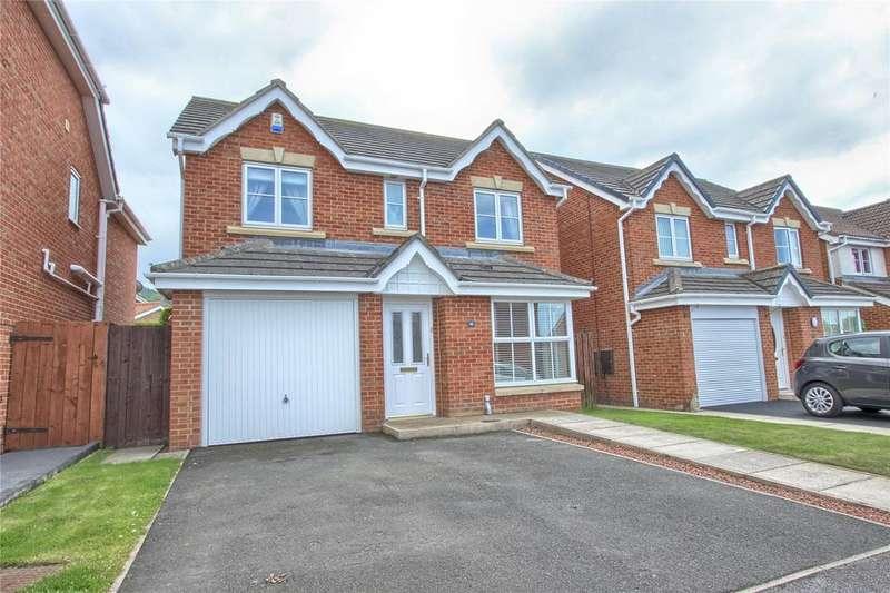 4 Bedrooms Detached House for sale in Slaley Close, New Marske