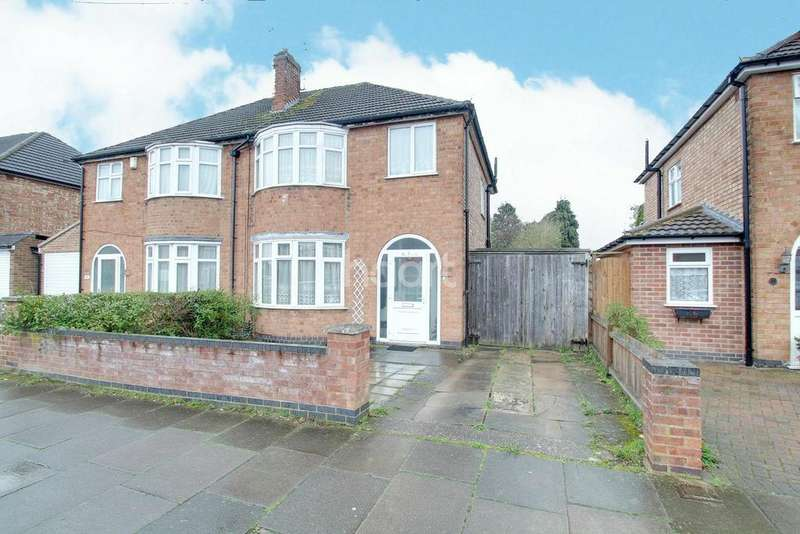 3 Bedrooms Semi Detached House for sale in Lamborne Road, Knighton, Leicester