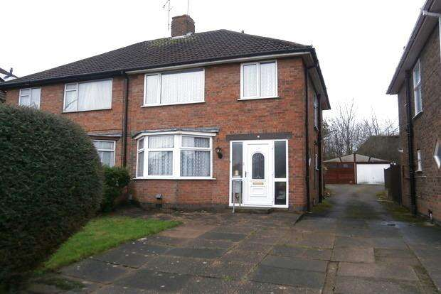 3 Bedrooms Semi Detached House for sale in Padstow Road, Leicester, LE4
