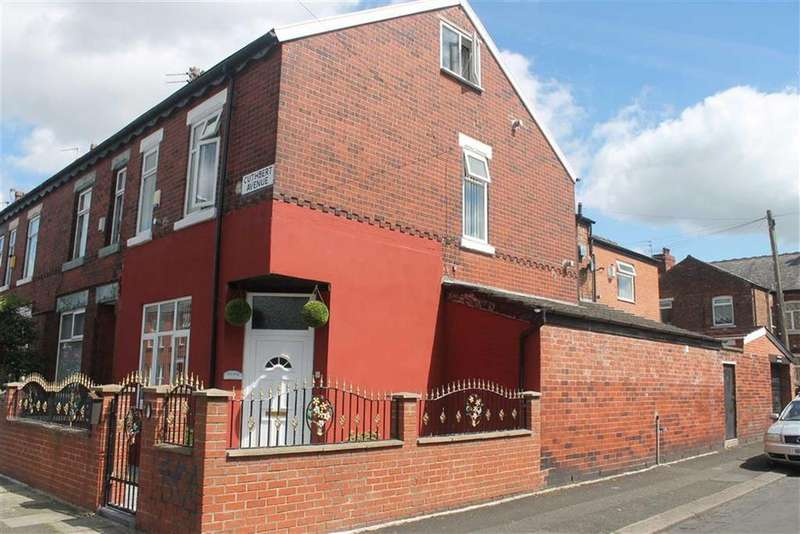 4 Bedrooms End Of Terrace House for sale in Cuthbert Avenue, Levenshulme, Manchester