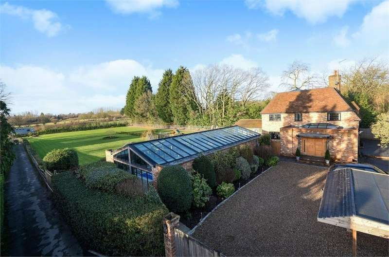 5 Bedrooms Detached House for sale in Steep Hill, CHOBHAM, Woking, Surrey
