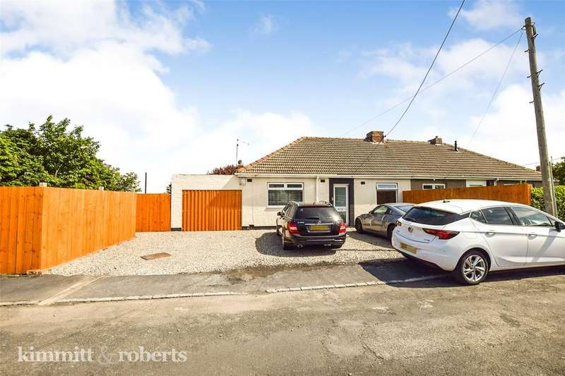 2 Bedrooms Semi Detached Bungalow for sale in Elm Avenue, Blackhall Colliery, Hartlepool, TS27