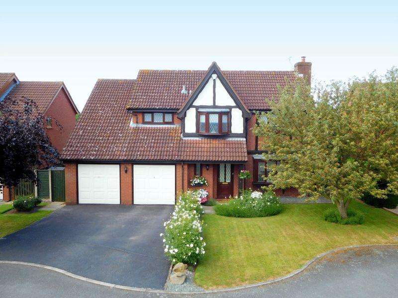 4 Bedrooms Detached House for sale in Meadow Close, Shavington