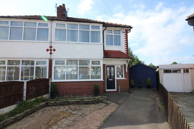 3 Bedrooms Semi Detached House for sale in Cleveleys Avenue, Bury, BL9