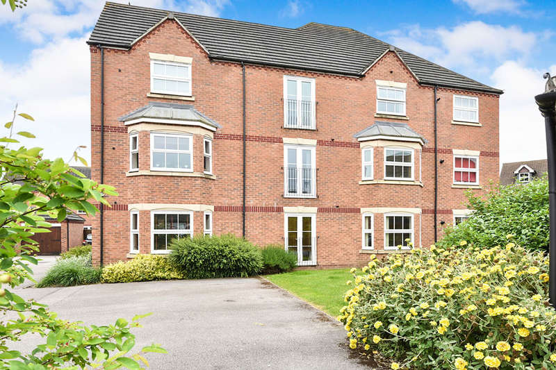 2 Bedrooms Flat for sale in Thames Way, Hilton, Derby, DE65