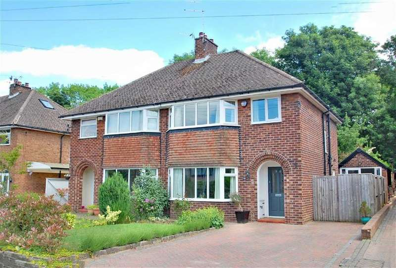 3 Bedrooms Semi Detached House for sale in Dean Drive, Wilmslow, Cheshire