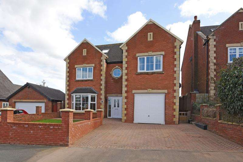 5 Bedrooms Detached House for sale in St. Pauls Gardens, Witton Park, County Durham