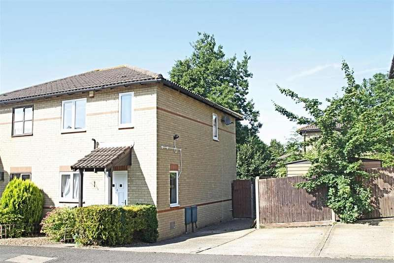 3 Bedrooms Semi Detached House for sale in Coldeaton Lane, Emerson Valley, Milton Keynes
