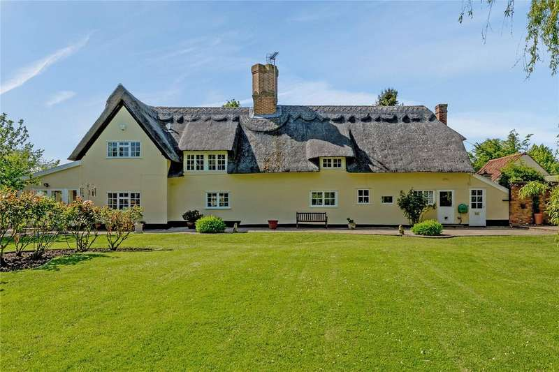 5 Bedrooms Detached House for sale in Turnpike Hill, Withersfield, Suffolk