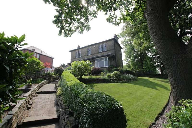 3 Bedrooms Detached House for sale in Oak Lea, White Lee Road, Batley