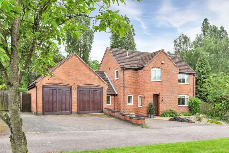 4 Bedrooms Detached House for sale in The Green, Old Dalby, Melton Mowbray