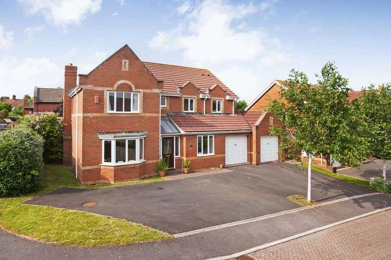 5 Bedrooms Property for sale in Vickery Close, Durleigh, Bridgwater