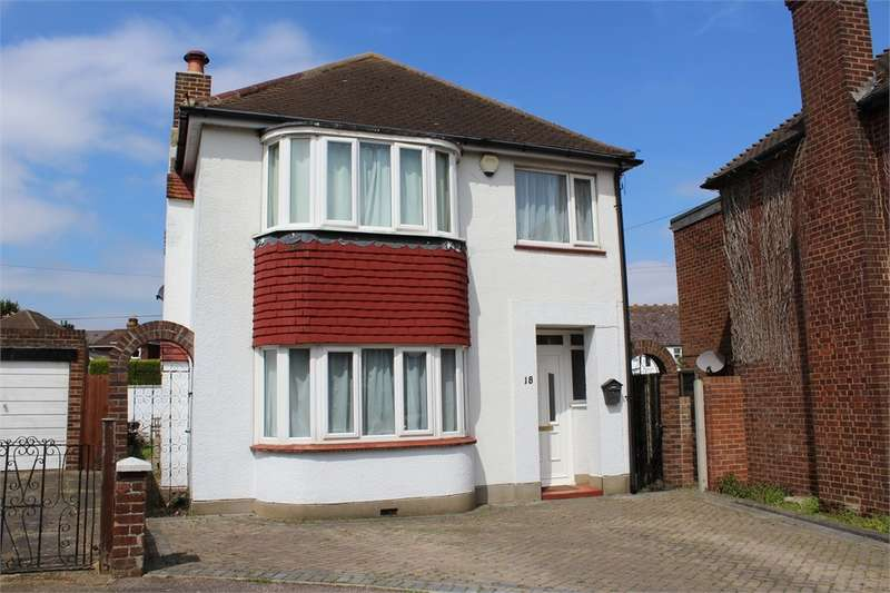 3 Bedrooms Detached House for sale in Derby Road, DARLAND, Kent