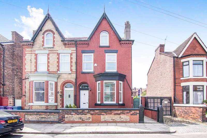 5 Bedrooms Semi Detached House for sale in Harley Street, LIVERPOOL, L9