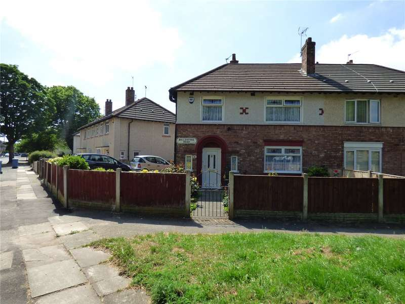 3 Bedrooms Semi Detached House for sale in Ballantyne Road, Liverpool, Merseyside, L13