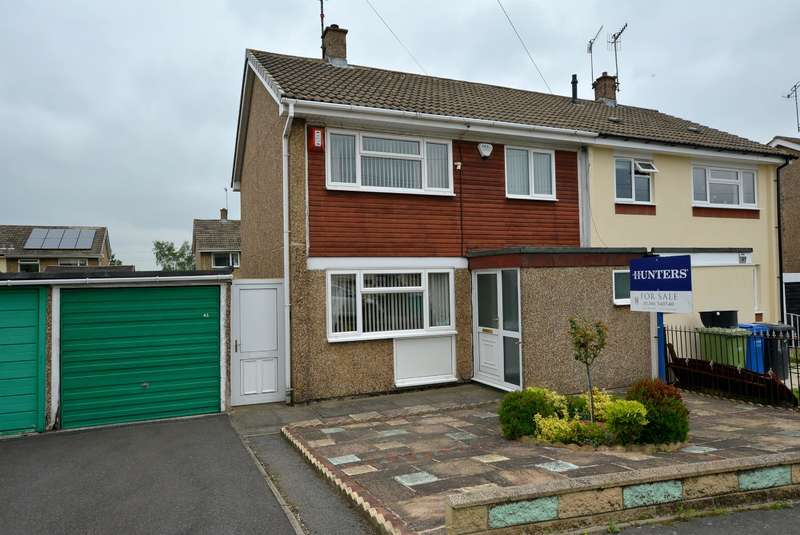 3 Bedrooms Semi Detached House for sale in Calver Crescent, Staveley, Chesterfield, S43