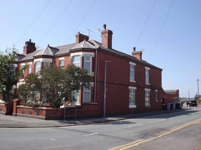 4 Bedrooms End Of Terrace House for sale in Hungerford Road, Crewe