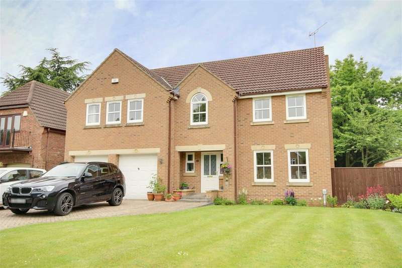 5 Bedrooms Detached House for sale in West Green, West Ella
