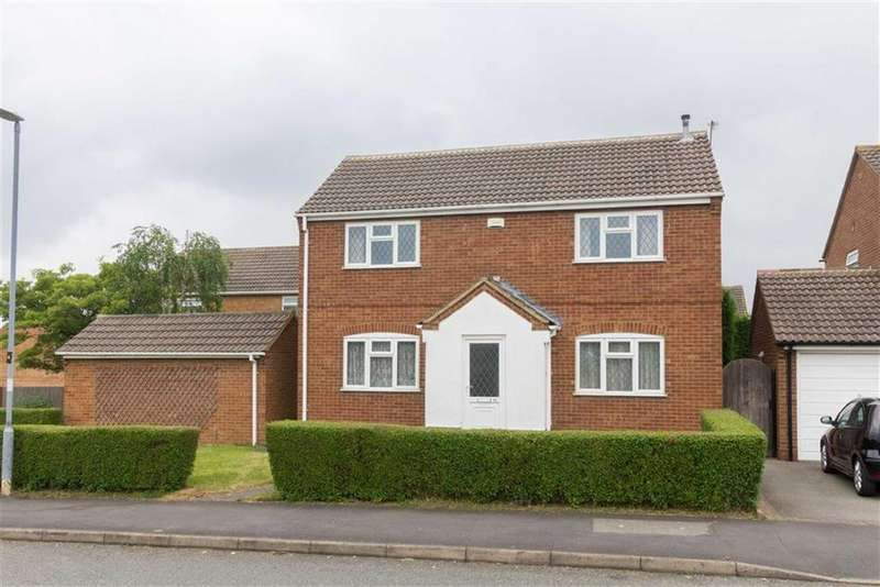 4 Bedrooms Detached House for sale in Trueway Drive, Shepshed, LE12
