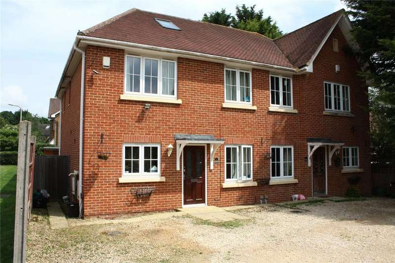 4 Bedrooms Semi Detached House for sale in Elmwood Close, Woodley, Reading, Berkshire, RG5