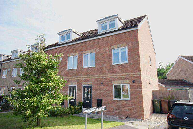3 Bedrooms Semi Detached House for sale in Ivywood Close, Lincoln