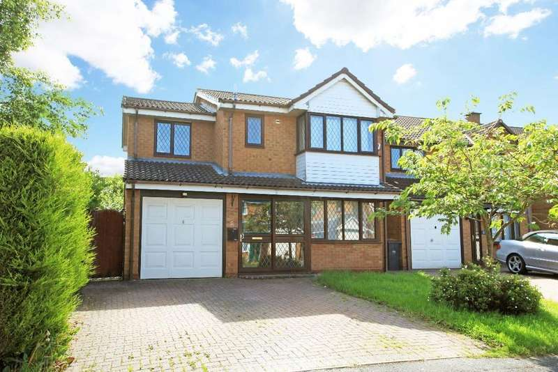 4 Bedrooms Detached House for sale in Elderberry Close