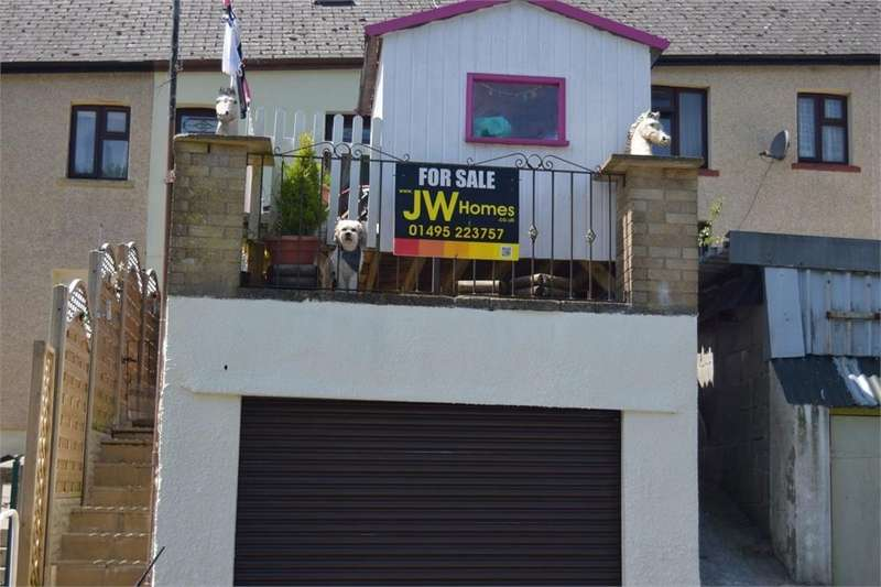 3 Bedrooms Terraced House for sale in Fernhill Terrace, Phillipstown, New Tredegar