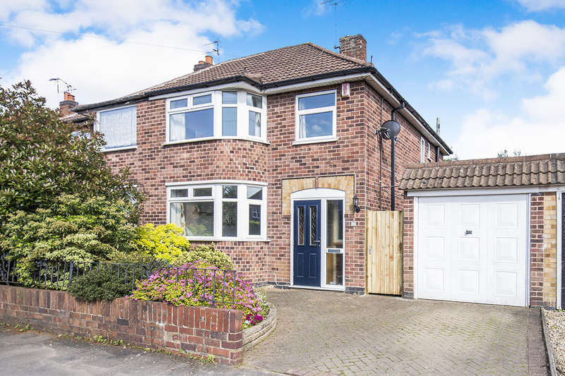 3 Bedrooms Semi Detached House for sale in Keswick Road, Blaby, Leicester, LE8
