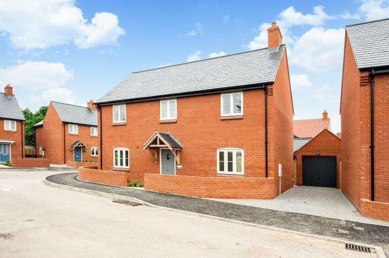 4 Bedrooms Detached House for sale in The Walton, Paddock View, Old Stratford, Milton Keynes, Northamptonshire