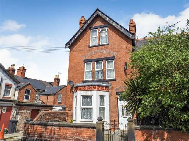 4 Bedrooms End Of Terrace House for sale in Wellington Road, Wrexham