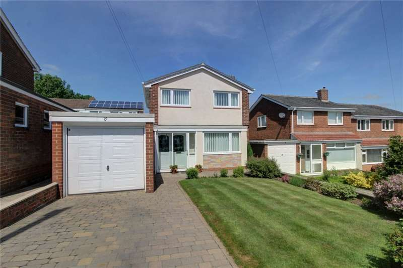 3 Bedrooms Detached House for sale in Southway, Lanchester, Durham, DH7
